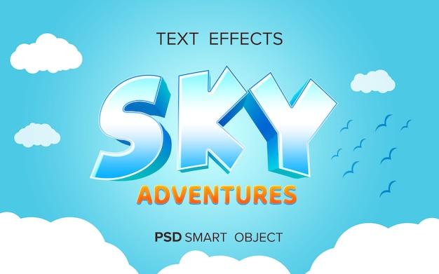 Effet de texte de jeu d'aventure