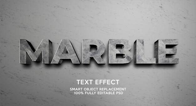 Effet de texte en marbre