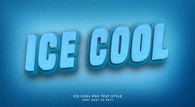 Effet de texte modifiable, style de texte 3d cool