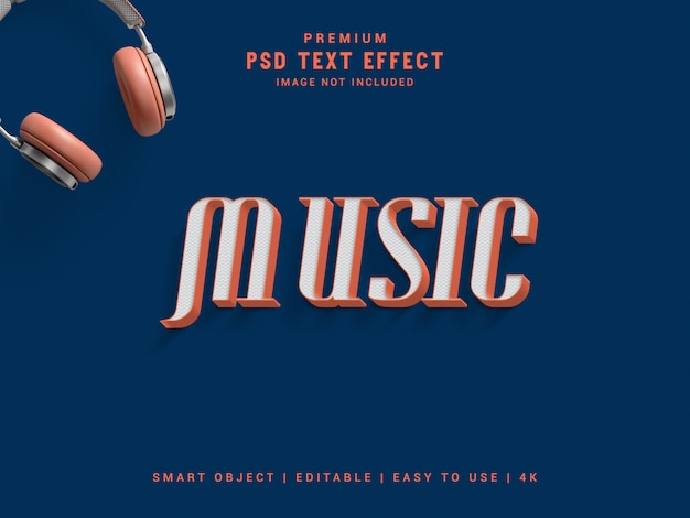 Effet de texte musical