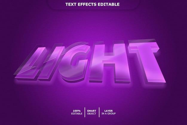 Effet de texte néon