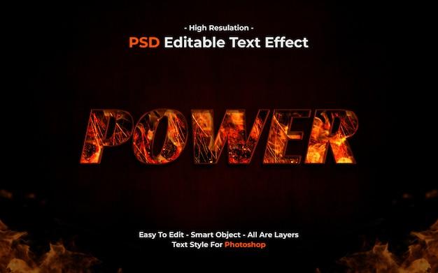 Effet de texte puissant