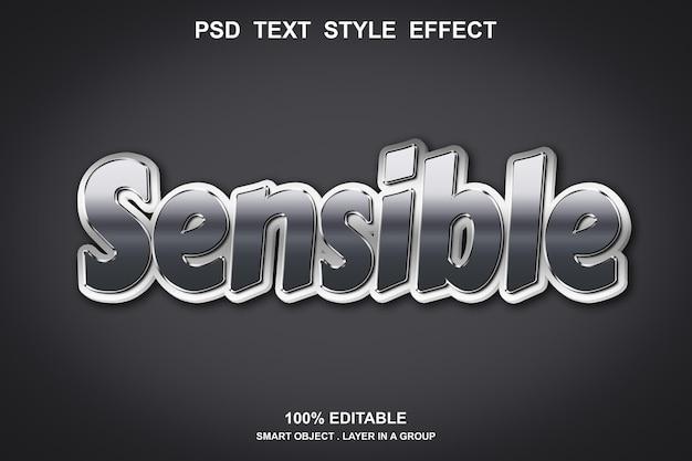 Effet de texte sensible modifiable