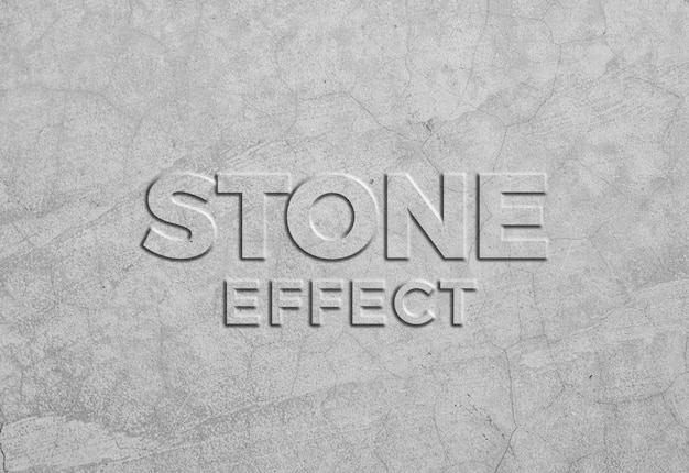 Effet de texte de texture de pierre claire