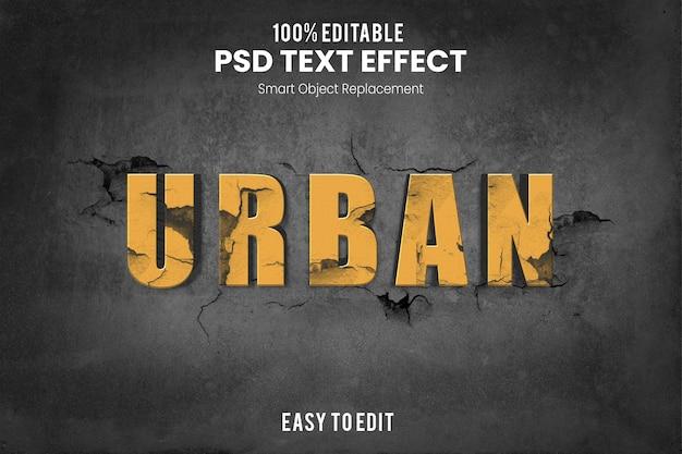 Effet urbantext