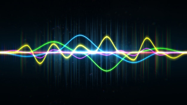 Égaliseur de musique audio de fréquence