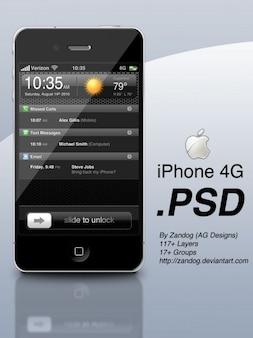 Élégant design de l'interface du téléphone mobile