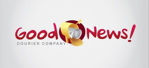 Email modèle de conception de logo