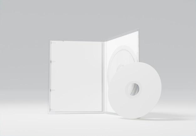 Emballage abstrait de jeu et maquette de cd