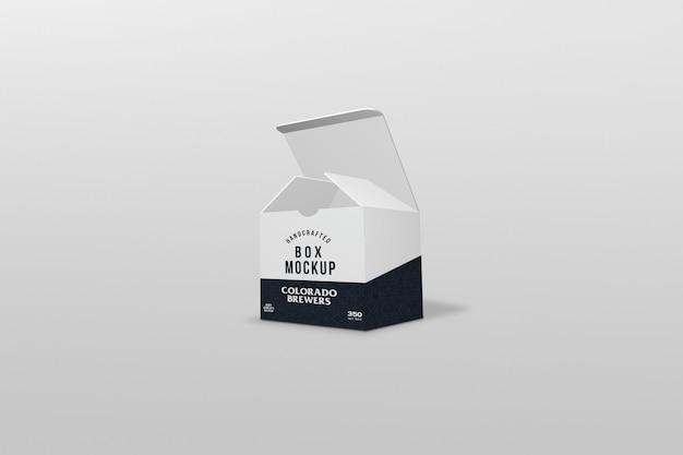 Emballage de boîte carrée