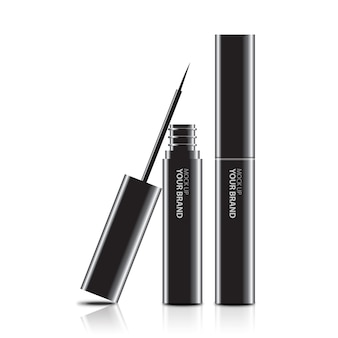 Emballage d'eye-liner cosmétique