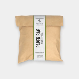 Emballage de sac en papier