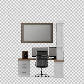 Ensemble de mobilier de bureau
