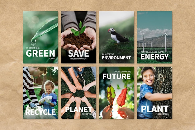Ensemble psd de modèles modifiables d'environnement