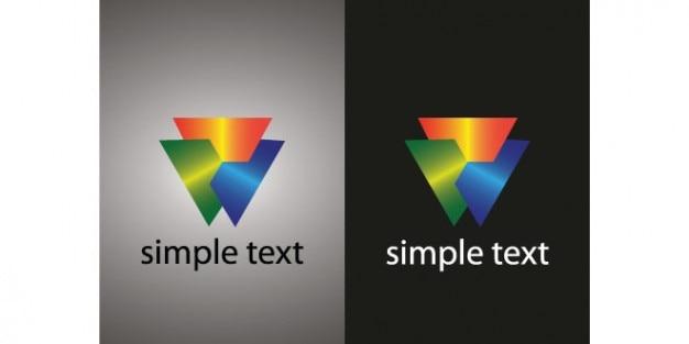 Entreprise créative logo modèle