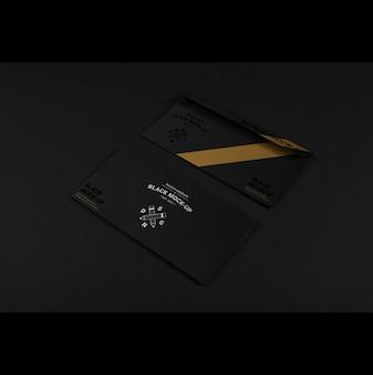 Enveloppe d'affaires maquette conception