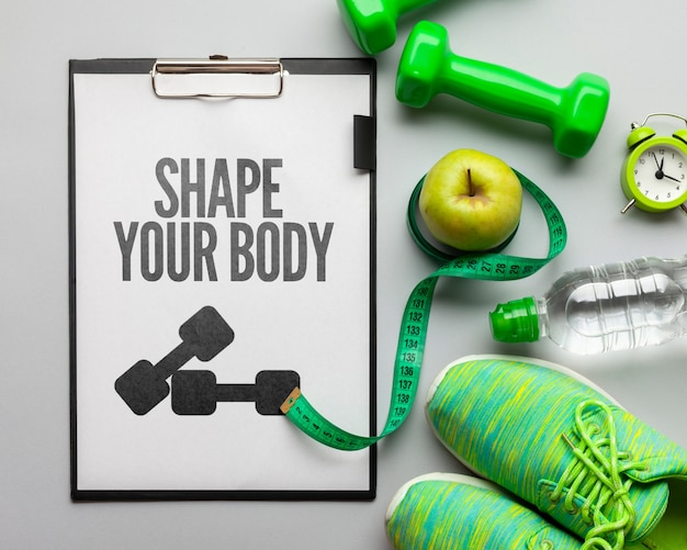 Équipement de fitness et set d'hydratation