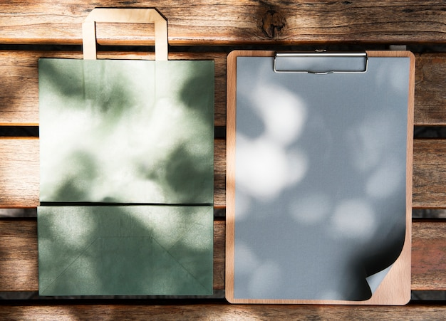 Espace de conception sur des papiers