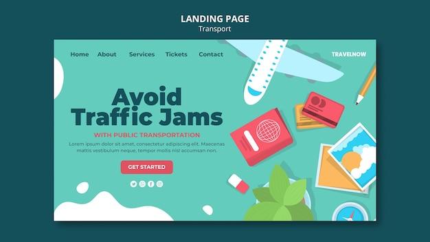Évitez les embouteillages sur la page de destination