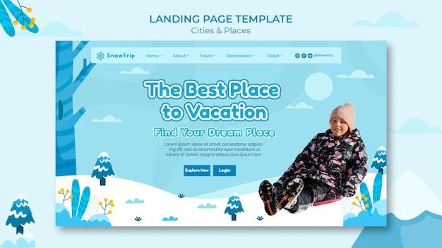 Explorer de nouveaux modèles de page de destination