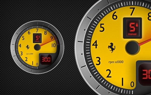 F430 tachymètre