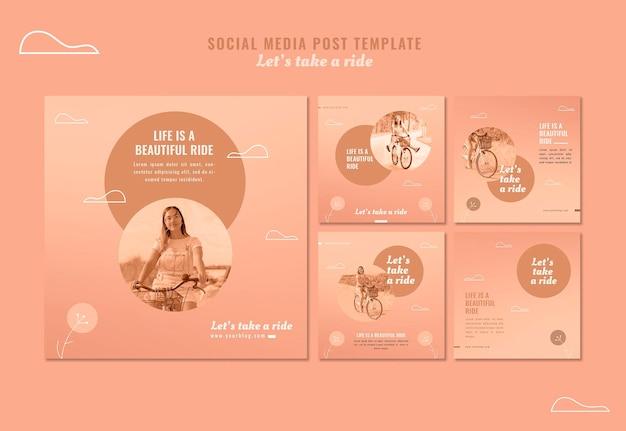Faisons un tour des publications sur les réseaux sociaux