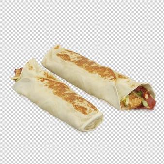 Fast food isométrique