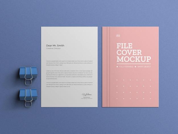 Fichier minimal avec maquette de papier à en-tête