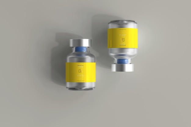 Flacon de 5 ml maquette