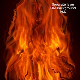 Flammes fond de haute qualité