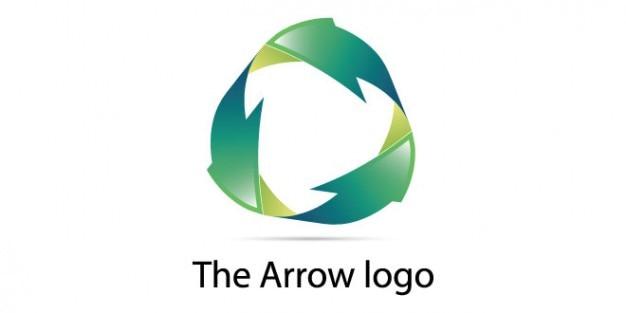 Flèches éco conception de logo