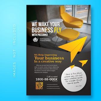 Flyer de création d'entreprise