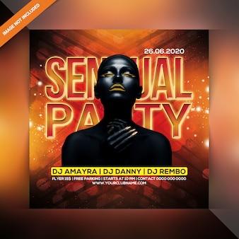 Flyer dj party
