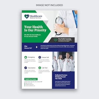 Flyer médical