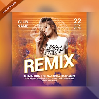 Flyer party remix