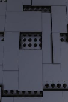 Fond avec des formes géométriques