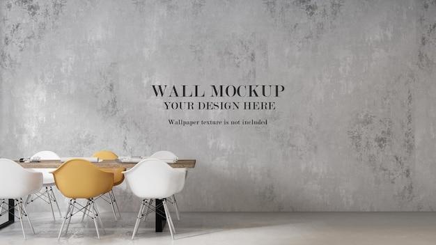 Fond de mur à l'intérieur de style scandinave