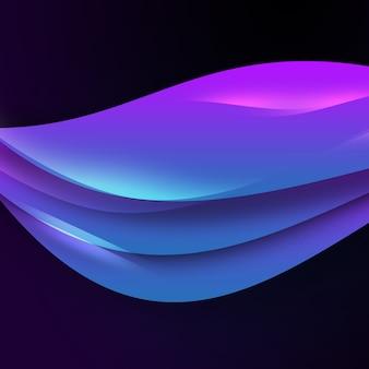 Fond ondulé violet