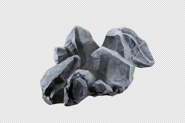 Formation rocheuse de différentes manières