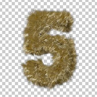 Fourrure blonde numéro 5