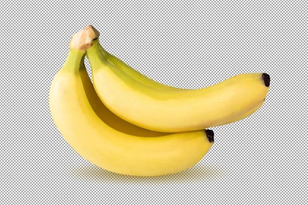 Fruit de banane isolé