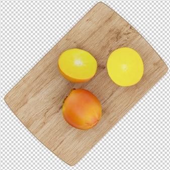 Fruit isométrique