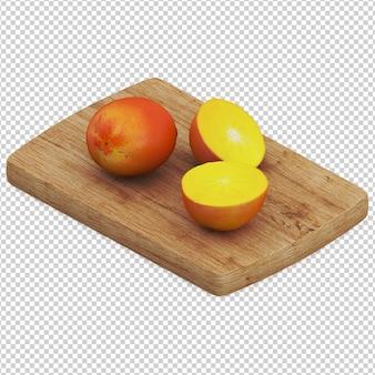 Fruits isométriques