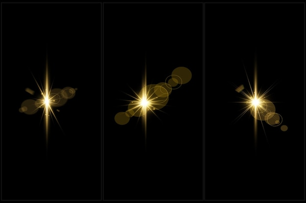 Les fusées éclairantes numériques colorées définissent la lumière d'objectif isolée
