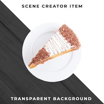 Gâteau de boulangerie psd transparent