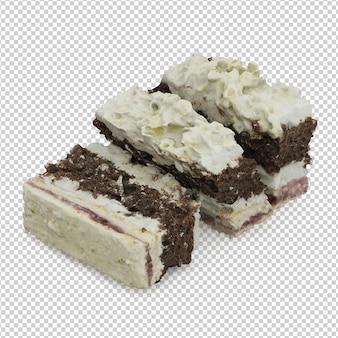 Gâteau isométrique