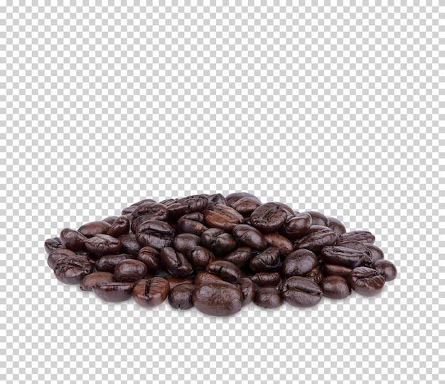 Grains de café isolés