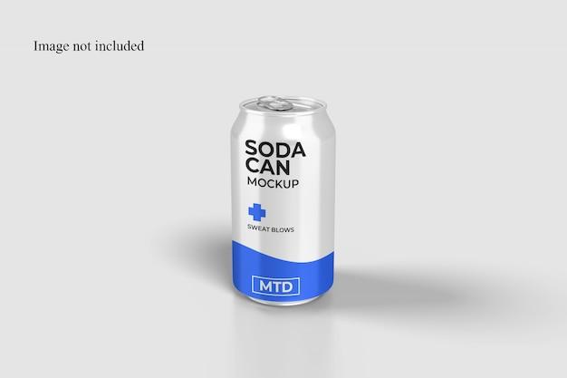 Grande maquette de canette de soda