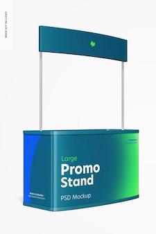 Grande maquette de stand promotionnel, vue de droite