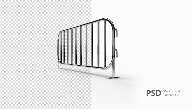 Gros plan sur la barricade